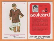 Hearts of Midlothian Donald Ford Scotland (SC6)